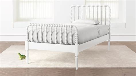 jenny lind white twin bed reviews crate  barrel