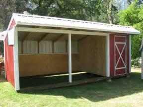 build loafing shed marskal