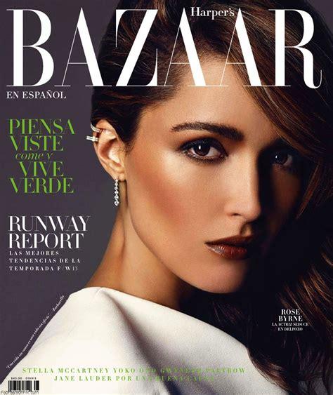 Rose Byrne For Harper's Bazaar Mexico August 2013