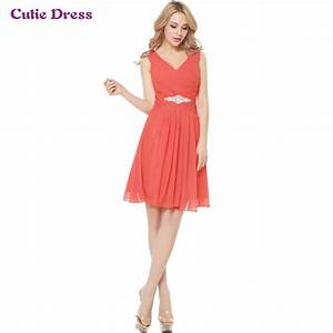 short chiffon cheap bridesmaid dresses under 50 knee With dresses for wedding party cheap