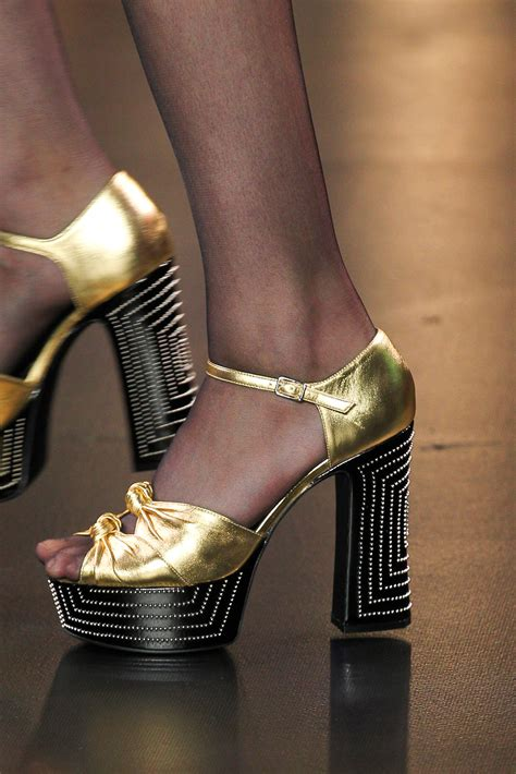 saint laurent spring summer  runway bags  shoes