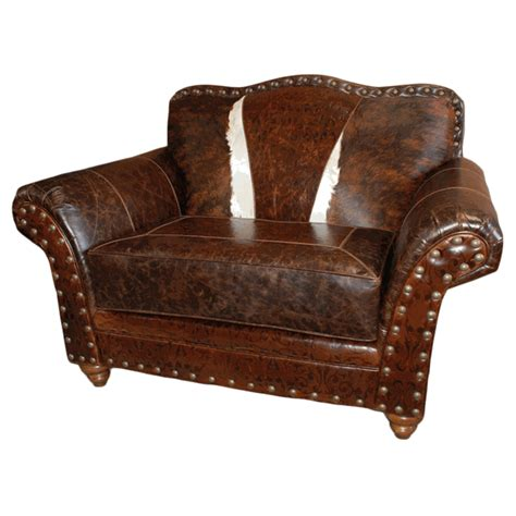 western royalty chair and a half