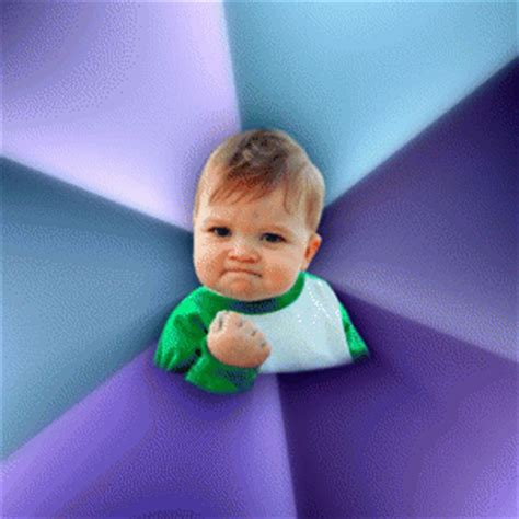 Baby With Fist Meme - fist pump baby kappit