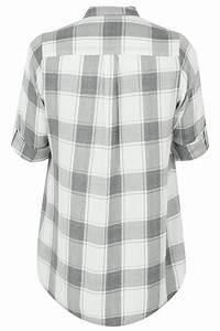I Watch Kaufen : kariertes hemd in grau wei in gro en gr en 44 bis 64 ~ Eleganceandgraceweddings.com Haus und Dekorationen