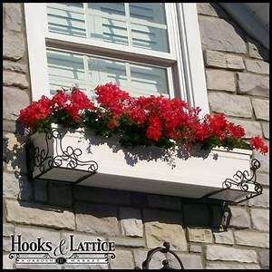 Window Boxes & Planter Boxes Hooks & Lattice