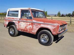 1969 Ford Bronco Sport Dry California Factory Candyapple