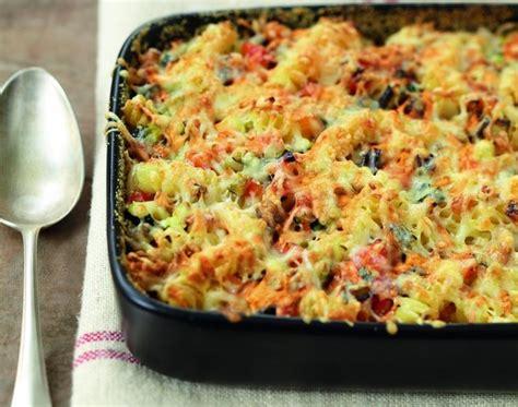 recette gratin de pates aux legumes du soleil fromage