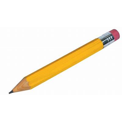 why are pencils yellow??Kristen CardEasy Writer