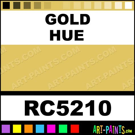gold pearl colors acrylic paints rc5210 gold paint