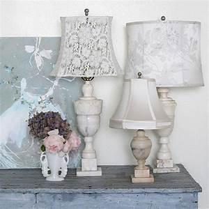 Shabby Chic Lampen : d coration shabby chic pour une ambiance romantique ~ Orissabook.com Haus und Dekorationen