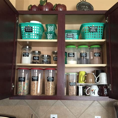 Kitchen Organization Dollar Store by Ideas To Organize Your Kitchen Cabinet All From The Dollar
