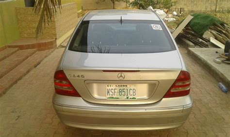 Towed it in on flatbed, service department was speculating about bad head, not sure. 2004 Mercedes C240 - Autos - Nigeria