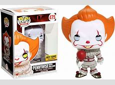 Pop! Movies IT 2017 Vinyl Figure Pennywise with Balloon
