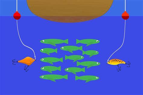 lures grouper fishing three depth trolling catch way reel choose
