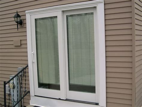 sliding patio doors with built in blinds patio sliding glass patio doors with built in blinds home