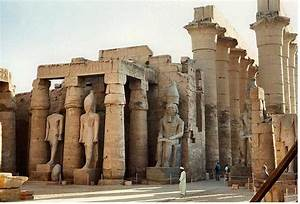 Ancient Egyptian Architecture Columns