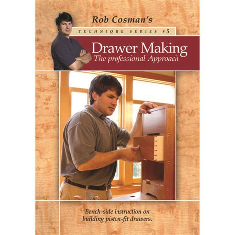 rob cosman drawer making  professional approach dvd