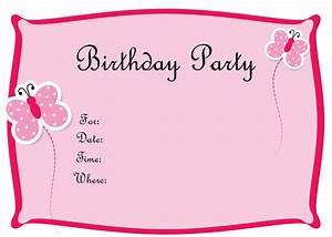 free birthday invitations to print drevio invitations design With invitiation template