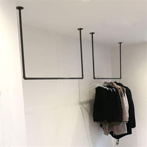 Flur Gestalten Industrial by Kleiderstange Der Decke Platzsparende Garderobe F 252 R