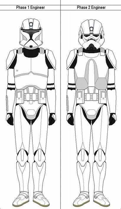 Clone Trooper Phase Wars Star Deviantart Marcusstarkiller
