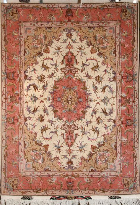 Tabriz Rug by Knotted Tabriz Rug In Kork Wool Ref 1766