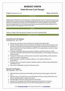 Medical Billing Manager Resume Revenue Cycle Manager Resume Samples Qwikresume