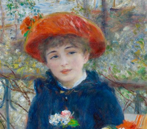 renoir two on the terrace can be objectively quot x is better than y