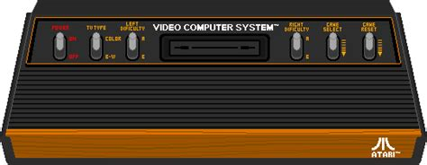 Atari 2600 Console Pixel Art By Aloneagainstpixels On