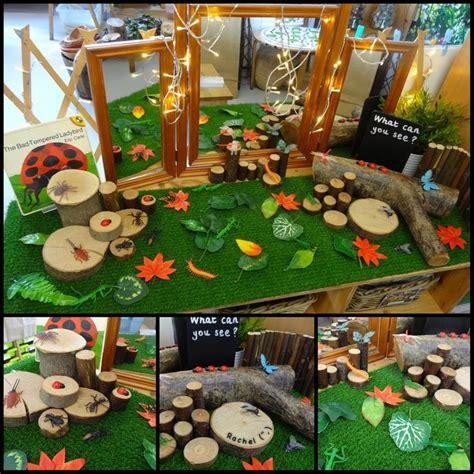 ladybird inspired play minibeasts eyfs preschool art