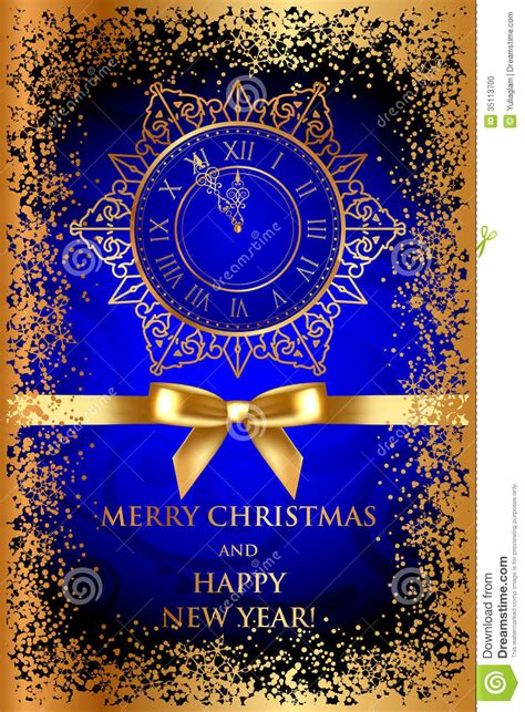 Perfect decoration for scrapbooking, wine glasses, artwork, cards, mugs, shirts, shadow frame boxes and whatever your mind can create! Merry Christmas & Happy New Year Blue Background W Stock ...