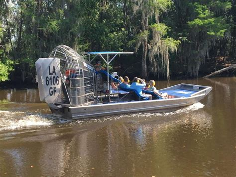 fan boat tour new orleans new orleans airboat sw tours