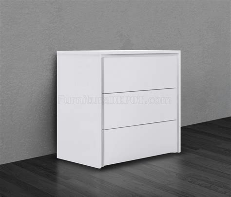 high gloss lacquer bedroom furniture zen single dresser high gloss white lacquer by casabianca