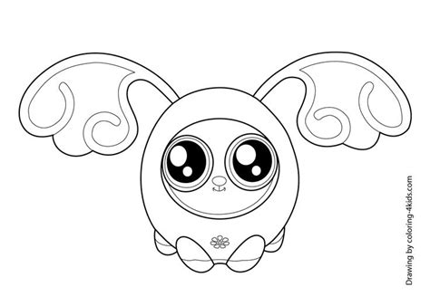 Fijit Friends Printable Coloring Pages