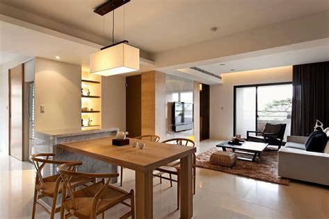 kitchen and dining interior design modern minimalist decor with a homey flow