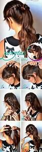 Tresse Facile à Faire Soi Même : coiffure facile cheveux long faire soi meme coiffure simple et facile ~ Melissatoandfro.com Idées de Décoration