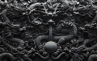 Chinese Ancient China Dragon Wallpapers Carving Depicting