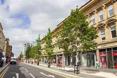 Glasgow Street Sauchiehall Urban Tree Pit System