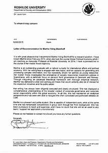 Letter Of Recommendation Marthe Yding Blomhoff Feb 2015