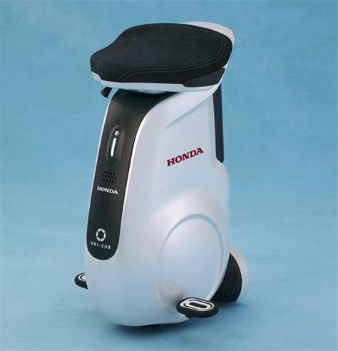 Honda Unicub Mobility Device Like A Sitdown Segway