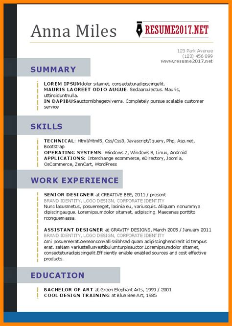 what a resume looks like resumes