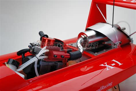 Rc Gas Boat Electric Start by Exceed Racing Fiberglass 26cc Gas Powered Artr Almost