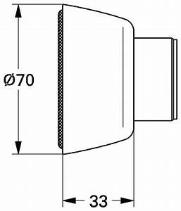 S Anschluss Armatur : grohe rosette 70 mm f r s anschluss chrom 45545000 ~ Watch28wear.com Haus und Dekorationen