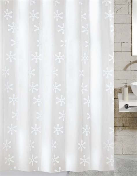 Contemporary Shower Curtain by Contemporary Pvc Free Shower Curtain Viva Contemporary