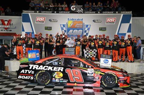 richmond race results september   nascar cup