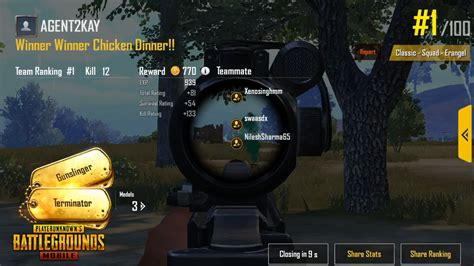 How To Get Chicken Dinners On Pubg Mobile
