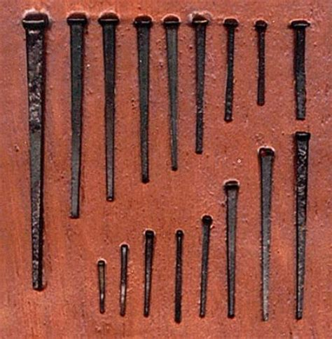 Old Boat Nails by How To Determine The Age Of A Building Internachi