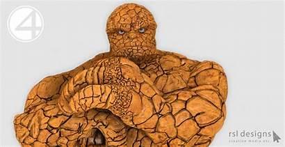 Grimm Ben Thing Fantastic Four Sculpt Aka