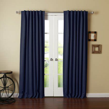 Walmart Thermal Drapes - best home fashion inc thermal insulated blackout curtain