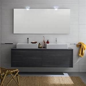 Idee Un bagno per due: mobile con doppio lavabo