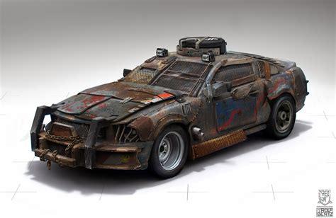 rolf bertz blog wasteland car